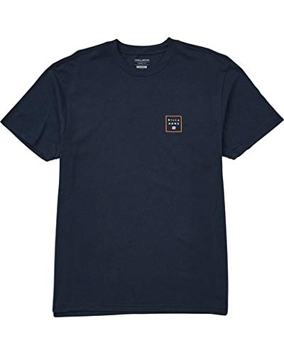 (Billabong Men's Stacked Fade Tee, Navy, M)