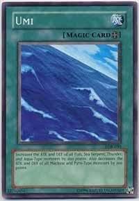 Yu-Gi-Oh! - Umi (LOB-050) - Legend of Blue Eyes White Dragon - Unlimited Edition - Common