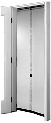 28x75inch White 70x190cm GONGFF Magnetic Door Screen Instant Screen Door Anti Mosquito Bugs Easy Install for Keep Bugs Fly Out