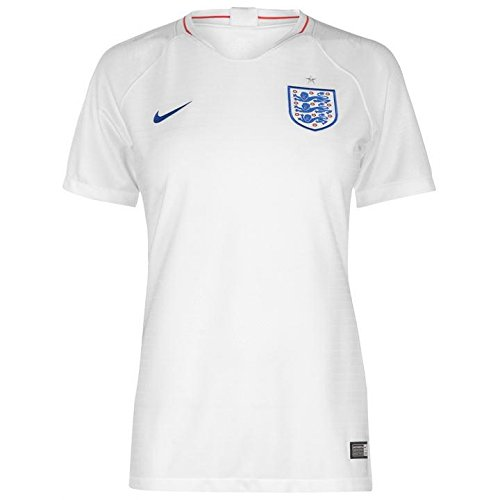 NIKE 2018-2019 England Home Womens Football Soccer T-Shirt Jersey