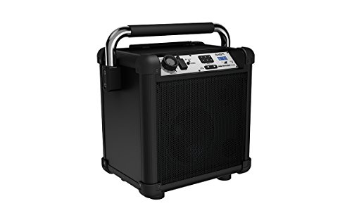 Ion Audio Job Rocker Plus (black) ION Audio Job Rocker Plus | Portable Heavy-Duty Jobsite Bluetooth Speaker System with AM/FM Radio + Mic Input (Black) by ION Audio