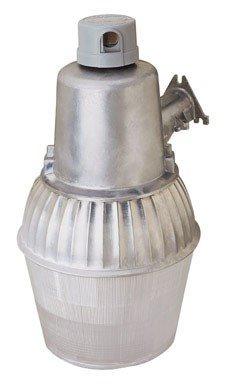 Heath Zenith Security Light Hi Press Sodium 70 W 120 V 17 In. Zinc Silver Ul For Sale