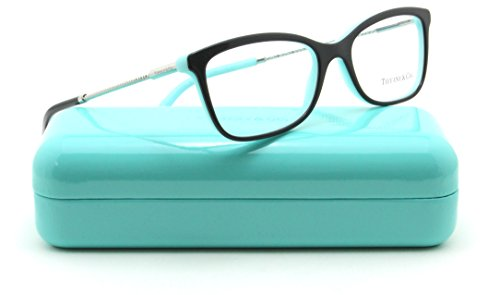 Discount Eyeglass Frames - Tiffany & Co. TF 2169-F Women Eyeglasses RX - able Frame Asian Fit (Black 8055, 53)
