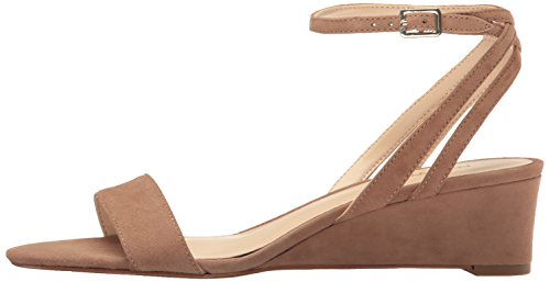 Pictures of Nine West Women's Lewer Suede Wedge Sandal 8 M US 5