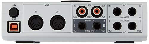 Native Instruments Komplete Audio 6 USB Audio Interface with Recording, DJ,  Synth, and Production Software