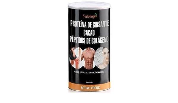 Active Foods Proteína de Guisante con Colágeno y Cacao - 500 gr: Amazon.es: Salud y cuidado personal