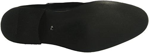 Bianco Dress Panel Shoe Jja16 - Zapatos Hombre Negro - Schwarz (10/Black)