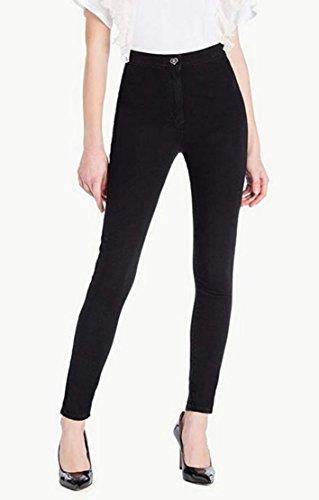 Twin Set Damen Jeanshose Schwarz Schwarz g8iJe