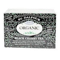 St Dalfour Black Cherry Tea (25 Individually Wrapped Tea Bags)
