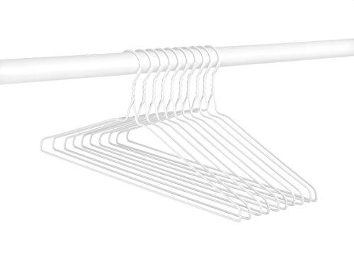 Whitmor Everyday Coated Hangers S/10