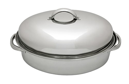 Lindy s 3-Qt Stainless Steel Chicken Roaster