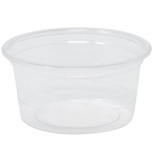 Simply Deliver 0.5 oz Soufflé Portion Cup, Clear PET, -
