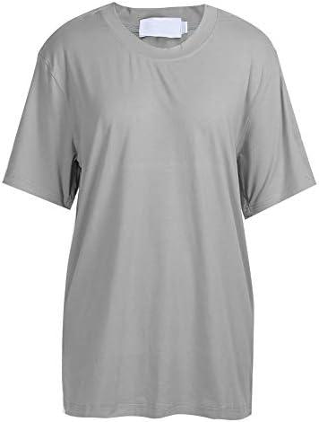 介護服 在宅介護介護用品 T桖コットンスナップ分離骨折術後リハビリテーションシングルシャツを脱ぎやすい通気性素材を着用するには不便(L-グレー)