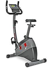 Hometrainer, Sportstech ESX500 ergometer, Duits kwaliteitsmerk, videoevenementen en multiplayer, 12 kg vliegwiel, compatibel met polsband, fitnessbike, hometrainer met fluisterstille riemaandrijving…