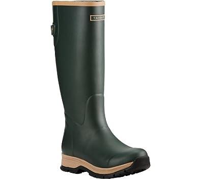 Ariat Womens Juniper Fernlee Rubber Outdoor Boot Green 105 B