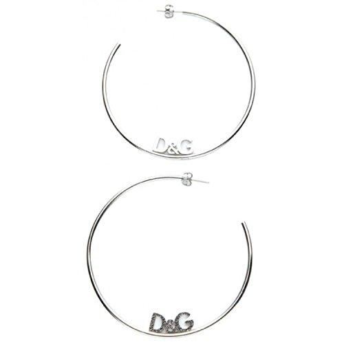Dolce & Gabbana - DJ0955 - LOVER - Boucles d'Oreilles Femme - Acier
