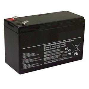 General 01280 - 12V 8Ah Sealed Emergency Light Battery (CF12V8 (WKA12-8F))