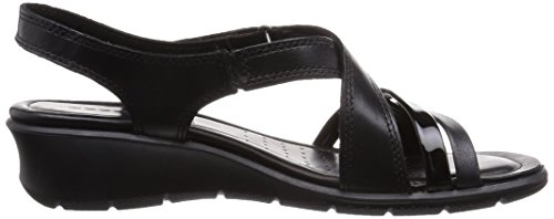 Ecco Footwear Felicia Robe Sandale, Noir, 41 Eu / 10-10.5 M Us
