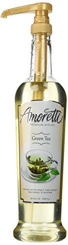 Green Tea Salad (Amoretti Premium Syrup, Green Tea, 25.4 Ounce)
