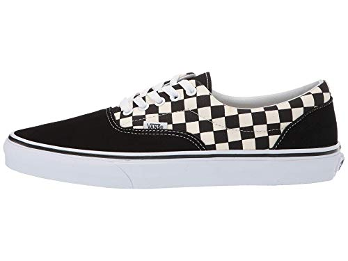 Vans Mens U ERA Primary Check Black White Size - Old School Vans Shoes