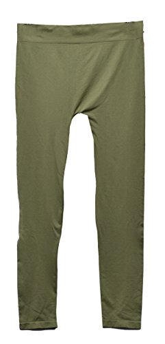 - HUE First Looks by Seamless Legging/Footless Tights (M/L: (10-12), Olive Green)