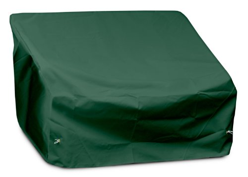 KOVERROOS Weathermax 62350 2-Seat/Loveseat Cover, 54-Inch Width by 38-Inch Diameter by 31-Inch Height, Forest Green by KOVERROOS
