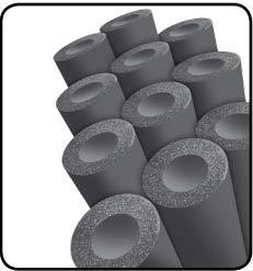 "Elastomeric Pipe Insulation 3//8/"" Wall K-Flex Usa 5//8/"" x 6 ft 6RX038058"