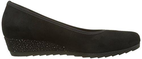 Gabor Shoes 52.6 - Zapatos de cuñas para mujer Negro (Schwarz Schwarz)