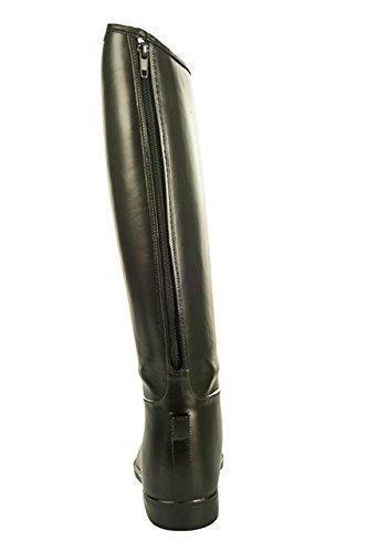 HKM botas de equitación para niños con cierre de cremallera - negro