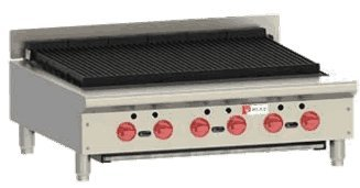Achiever Charbroiler - Wolf Range ACB36 Achiever Charbroiler