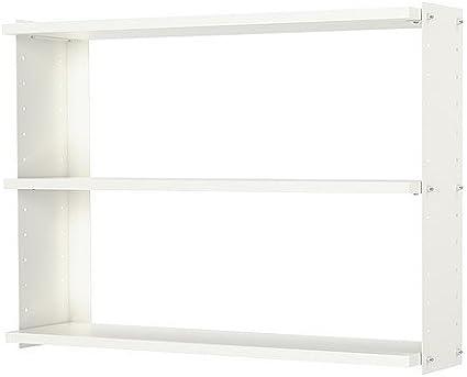 IKEA EKBY OSTEN / EKBY Oxie - Estantería de pared, blanco ...