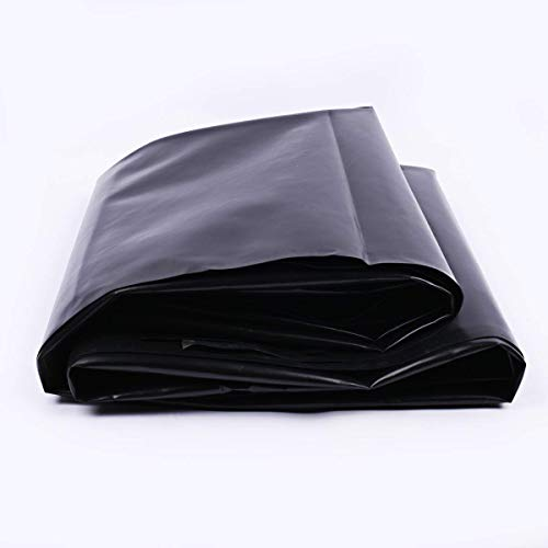 uyoyous HDPE Rubber Pond Liner,16.4 x 19.7 feet Black Pond Liner for Water Garden,Koi Ponds, Streams Fountains (Water Fountain Liner)
