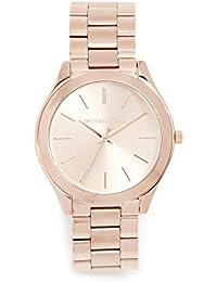 Women's Runway Rose Gold-Tone Watch MK3197