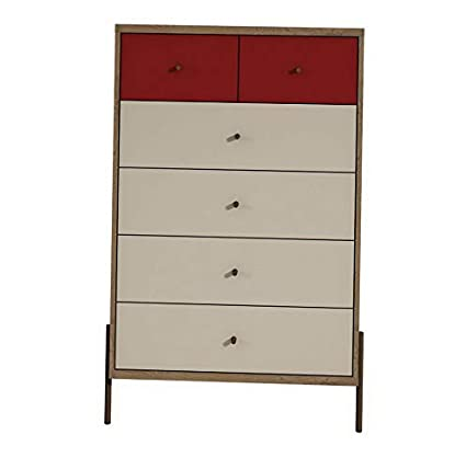 Amazon.com: Hebel Joy 6 Drawer Chest | Model DRSSR - 217 ...