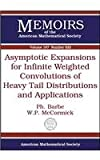 Asymptotic Expansions for Infinite Weighted Convolutions of Heavy Tail Distributions and Applications, Ph. Barbe and W. P. McCormick, 0821842595