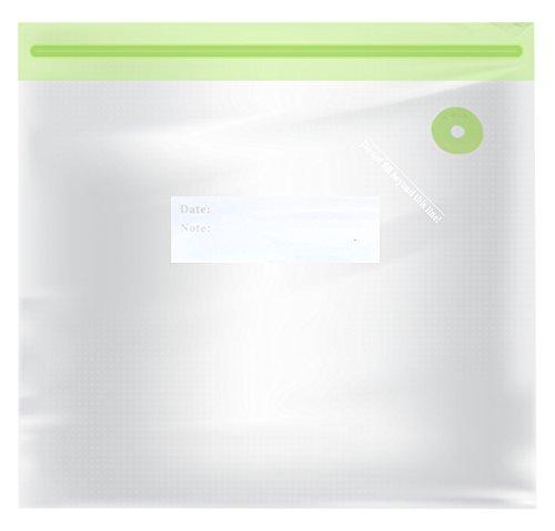TM Electron TMVAC271 Kit de 10 Bolsas Zip para Envasar Al Vacío Reutilizables Tamaño Xs