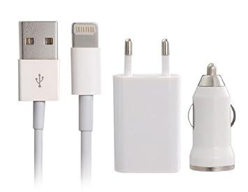 TR USB 3 en 1 cargador para el iPhone 5, iPod Nano 7, iPod ...