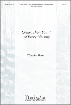 Come, Thou Fount of Every Blessing - Organ or Piano Sheet Music (Come Thou Fount Of Every Blessing Sheet Music)