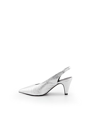 Argent Cuir Rmsisilver Minkoff Femme Rebecca Sandales qw86Fpt