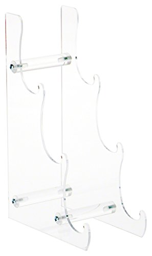 Plymor Brand Clear Acrylic 3-Tier Display Easel, 13.125