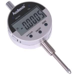 """AccuRemote 0-1""""/0.0005"""" DIGITAL ELECTRONIC INDICATOR GAGE GAUGE w/ Absolute and Hold Functions Inch/Metric conversion"""
