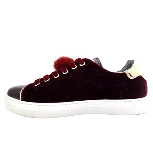 Calzature De Mujer Zapatillas Rojo Para Nero Sintético Giardini ztBqnYwpx5