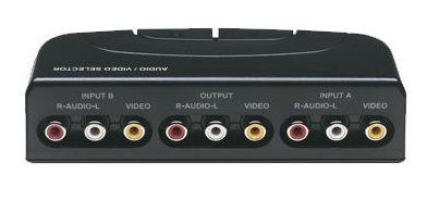 - RECOTON VS1002 Two Way Audio/Video Switcher, 2-Inputs 1-Output