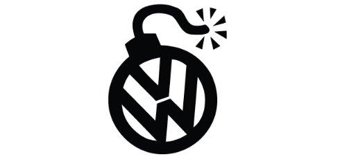 Volkswagen Bomb Decal, sticker, die cut, drifting, racing, jdm
