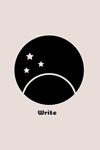 Write: Lined Minimalist Journal Sun and Stars