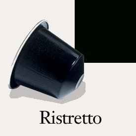 50 Nespresso OriginalLine: Ristretto, 1 Package (50 Capsules) - NOT compatible with VERTUOLINE