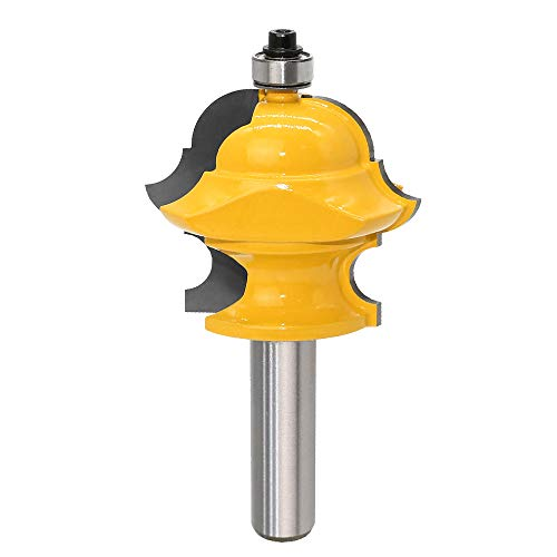 - Bestgle Multiform Molding Router Bit Woodworking Multi-Profile Forming Cutter Tool, 1/2-Inch Shank