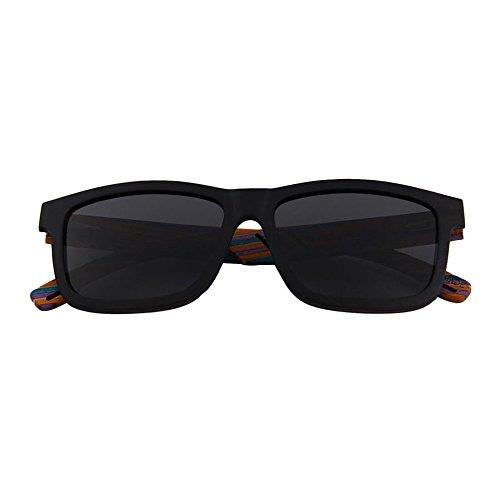 en bois de de lunettes soleil et 6 Lunettes polarisés lunettes Deux Verres bois bambou en soleil soleil polarisantes Shop de w7ZEqPvxx