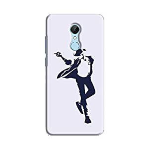 Cover It Up - Moonwalk Print Redmi 5 Hard Case