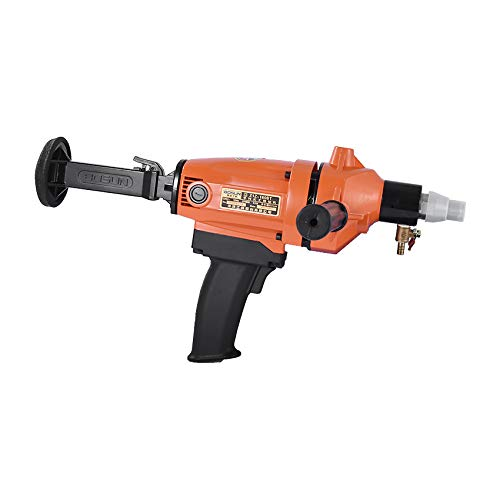 QWERTOUR 160B 220V 2100W Floor Wall Electric Core Drill Machine Portable Heavy Duty Brick Concrete Water Wet Core Hand Drill Equipment